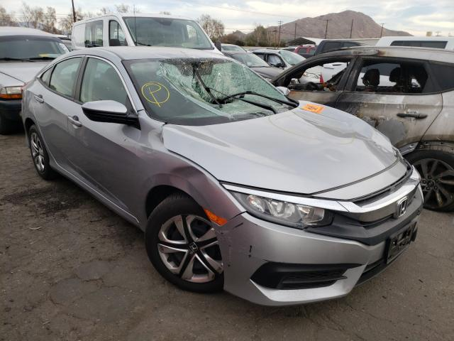 Salvage cars for sale from Copart Colton, CA: 2018 Honda Civic LX