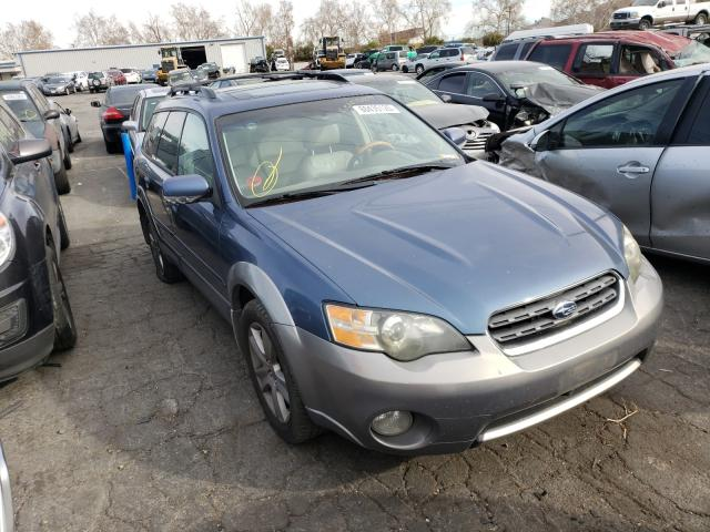 Salvage cars for sale from Copart Colton, CA: 2005 Subaru Legacy Outback