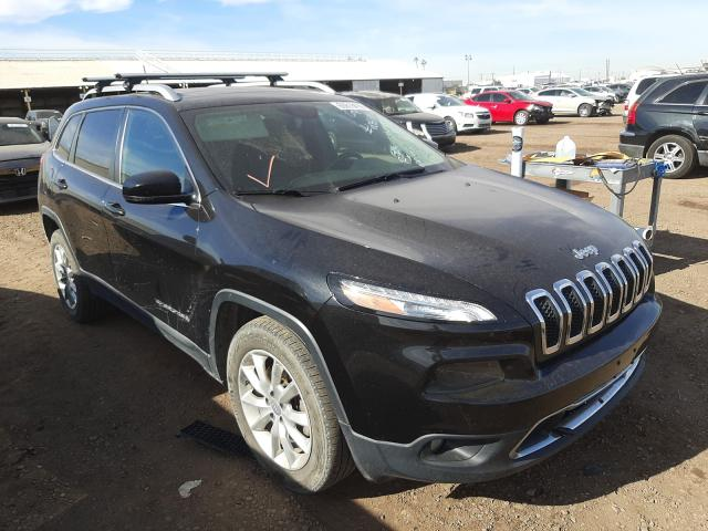 Salvage cars for sale from Copart Phoenix, AZ: 2015 Jeep Cherokee L