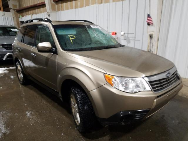 Salvage cars for sale from Copart Anchorage, AK: 2009 Subaru Forester 2