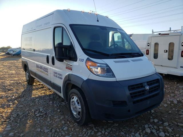 Salvage cars for sale from Copart China Grove, NC: 2017 Dodge RAM Promaster