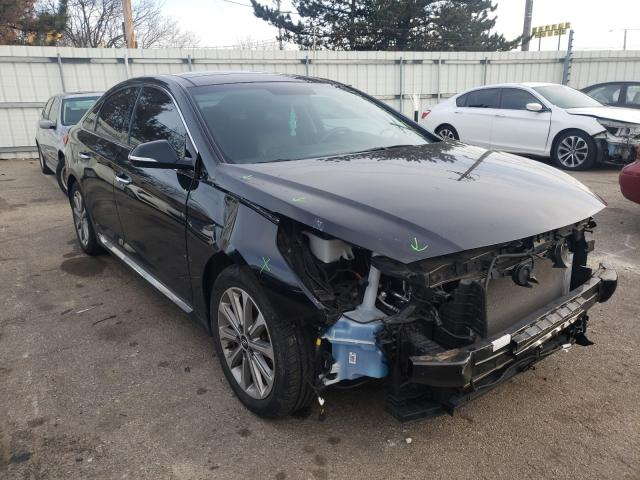 Salvage cars for sale from Copart Moraine, OH: 2016 Hyundai Sonata Sport