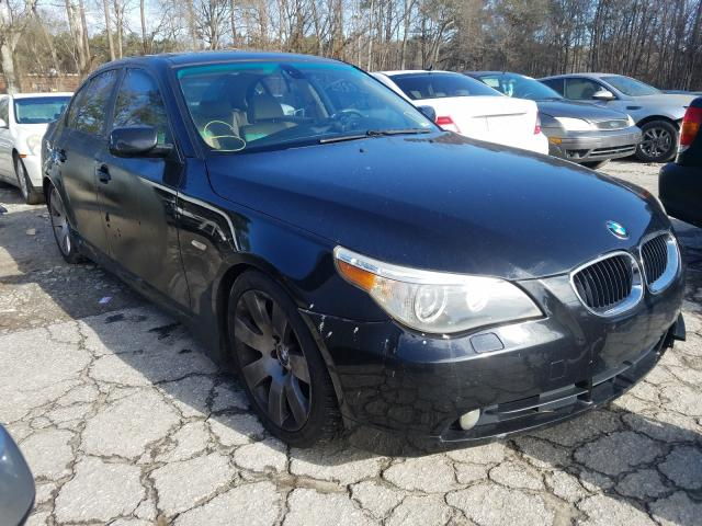 Salvage cars for sale from Copart Austell, GA: 2004 BMW 530 I