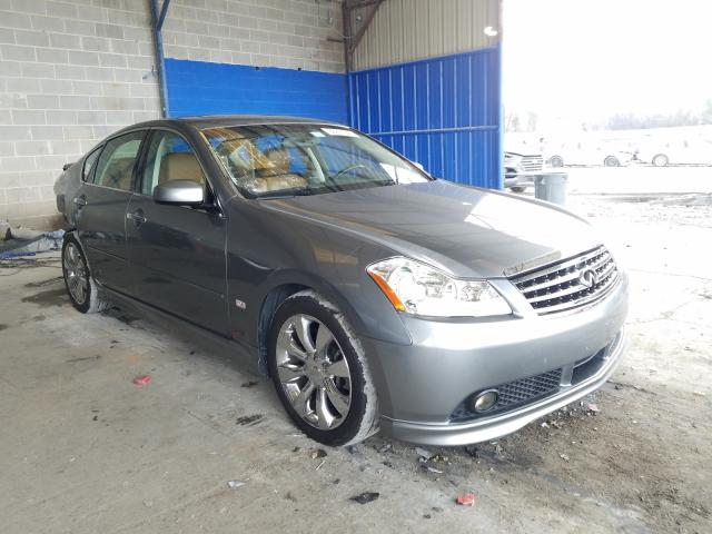 Salvage cars for sale from Copart Cartersville, GA: 2006 Infiniti M45 Base
