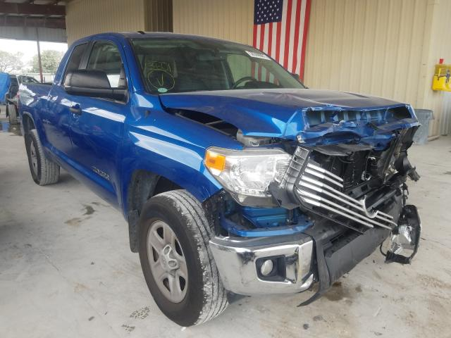 Salvage cars for sale from Copart Homestead, FL: 2017 Toyota Tundra DOU