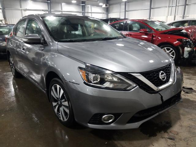 Nissan Sentra salvage cars for sale: 2017 Nissan Sentra