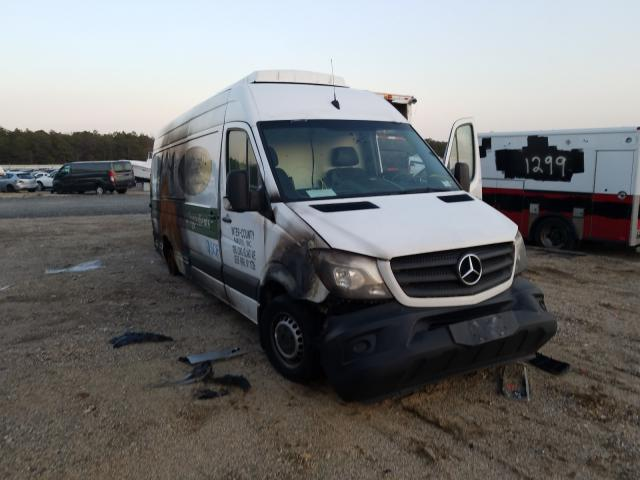 Salvage cars for sale from Copart Brookhaven, NY: 2017 Mercedes-Benz Sprinter 3