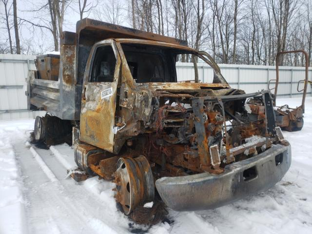 Chevrolet Dumptruck salvage cars for sale: 2007 Chevrolet Dumptruck