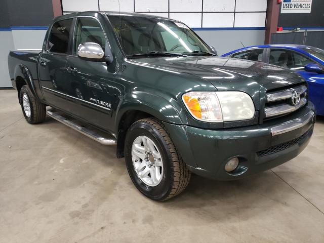 Salvage cars for sale from Copart East Granby, CT: 2005 Toyota Tundra DOU