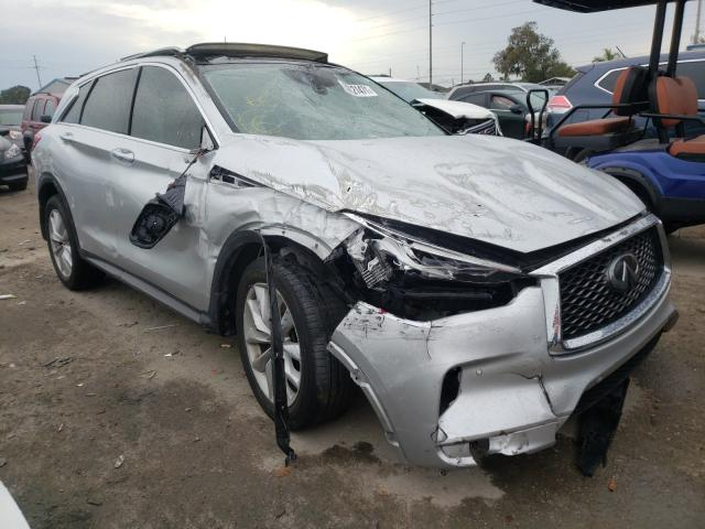 Salvage cars for sale from Copart Riverview, FL: 2019 Infiniti QX50 Essen