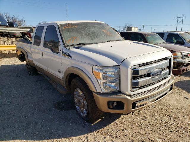 Salvage cars for sale from Copart Oklahoma City, OK: 2012 Ford F250 Super