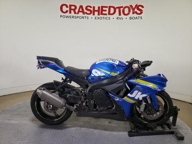 Salvage cars for sale from Copart Dallas, TX: 2016 Suzuki GSX-R750
