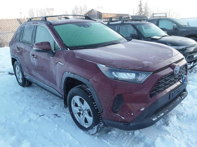 Salvage cars for sale from Copart Anchorage, AK: 2020 Toyota Rav4