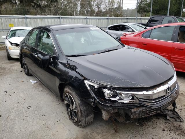 2016 HONDA ACCORD LX - Left Front View