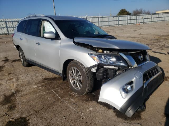 Nissan Pathfinder salvage cars for sale: 2015 Nissan Pathfinder