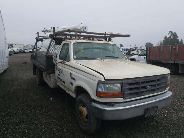 Ford F Super DU salvage cars for sale: 1993 Ford F Super DU
