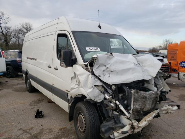 Salvage cars for sale from Copart Hueytown, AL: 2016 Mercedes-Benz Sprinter 2