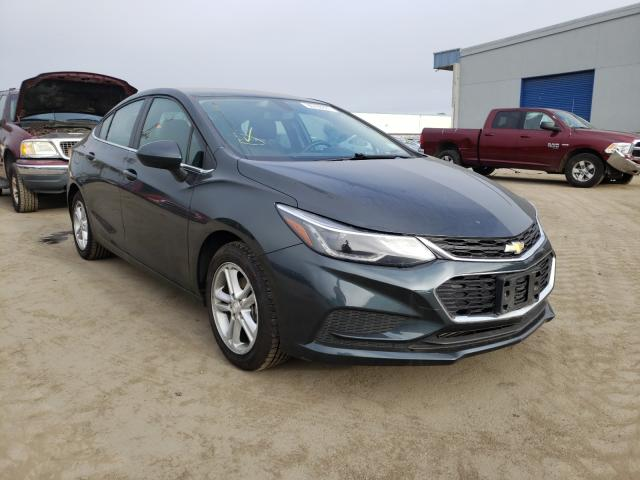 Salvage cars for sale from Copart Hayward, CA: 2018 Chevrolet Cruze LT