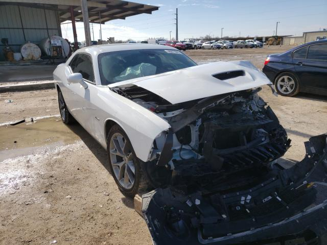 Salvage cars for sale from Copart Temple, TX: 2019 Dodge Challenger