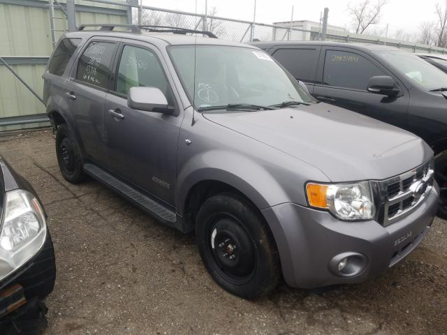 Salvage cars for sale from Copart Woodhaven, MI: 2008 Ford Escape LIM