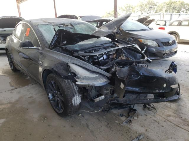 Salvage cars for sale from Copart Homestead, FL: 2018 Tesla Model 3