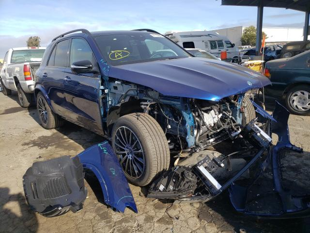 Salvage cars for sale from Copart Hayward, CA: 2021 Mercedes-Benz GLE 350 4M