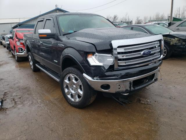 Salvage cars for sale from Copart Pekin, IL: 2014 Ford F150 Super