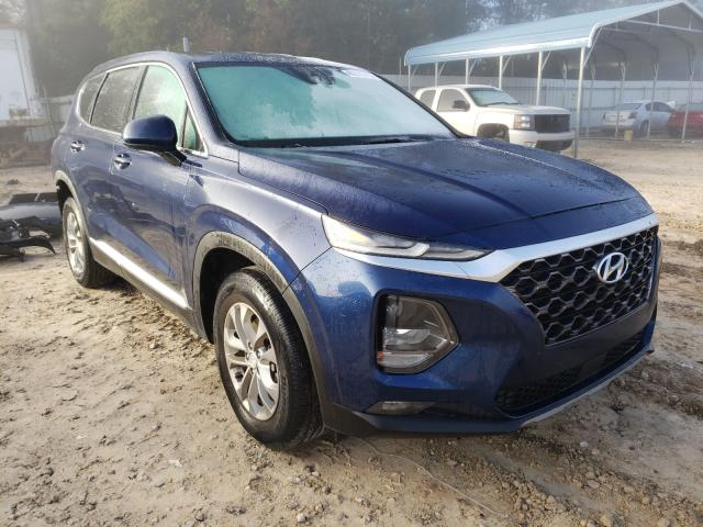 Salvage cars for sale from Copart Midway, FL: 2019 Hyundai Santa FE S