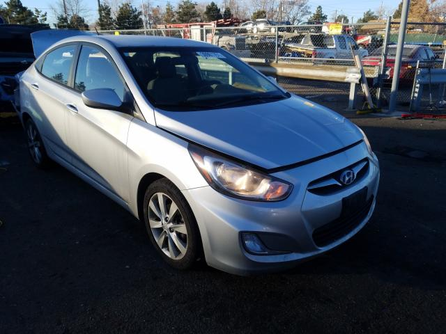 Hyundai salvage cars for sale: 2012 Hyundai Accent GLS