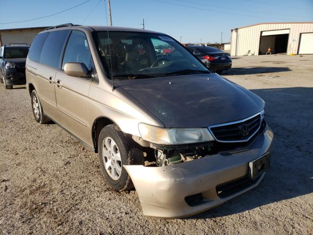 Salvage cars for sale from Copart Temple, TX: 2004 Honda Odyssey EX