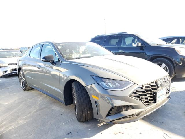 Hyundai Sonata SEL salvage cars for sale: 2021 Hyundai Sonata SEL