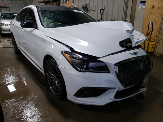 Genesis salvage cars for sale: 2018 Genesis G80 Sport