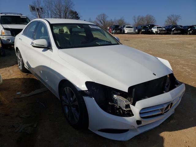 Mercedes-Benz salvage cars for sale: 2017 Mercedes-Benz C300
