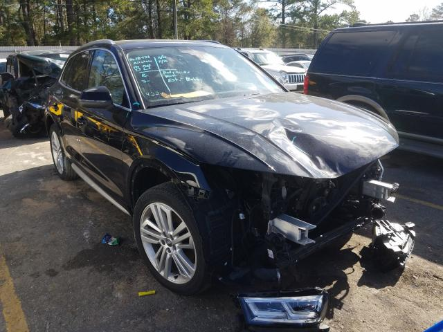 Salvage cars for sale from Copart Eight Mile, AL: 2018 Audi Q5 Prestige