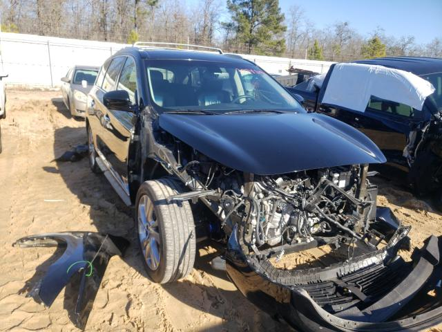 Salvage cars for sale from Copart Gaston, SC: 2015 Infiniti QX60