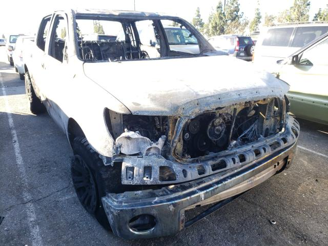 Salvage cars for sale from Copart Rancho Cucamonga, CA: 2010 Toyota Tundra CRE