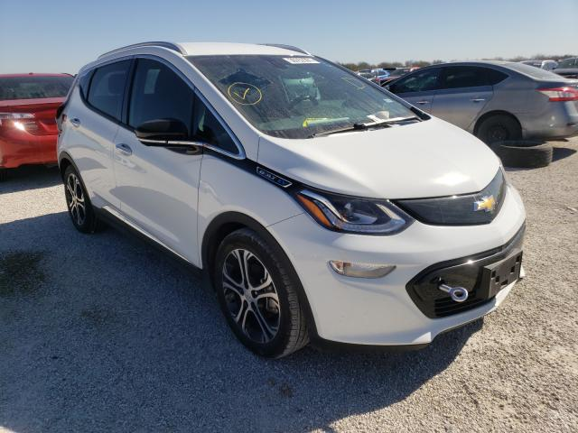 Salvage cars for sale from Copart San Antonio, TX: 2019 Chevrolet Bolt EV PR