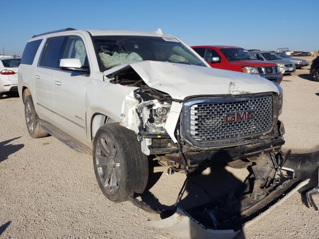 Salvage cars for sale from Copart San Antonio, TX: 2016 GMC Yukon XL D