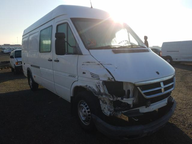 Salvage cars for sale from Copart Antelope, CA: 2006 Dodge Sprinter 2