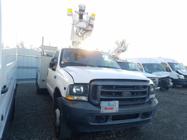 Salvage cars for sale from Copart Anderson, CA: 2004 Ford F450 Super
