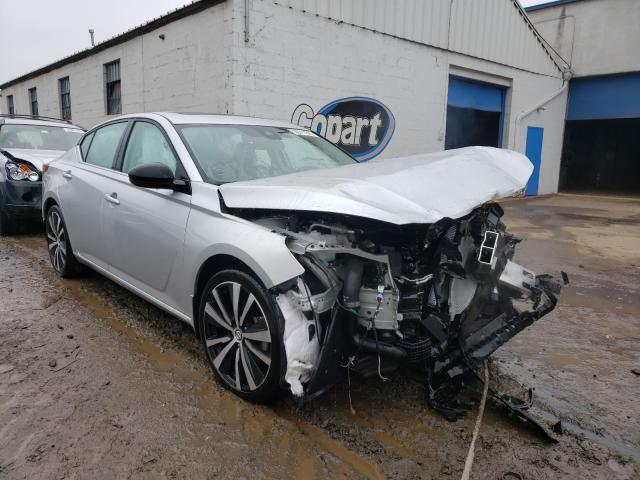Salvage cars for sale from Copart Hillsborough, NJ: 2020 Nissan Altima SR