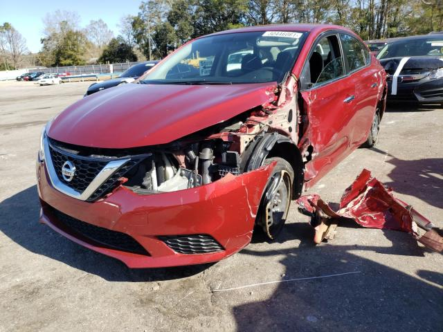 2017 NISSAN SENTRA S - Left Front View