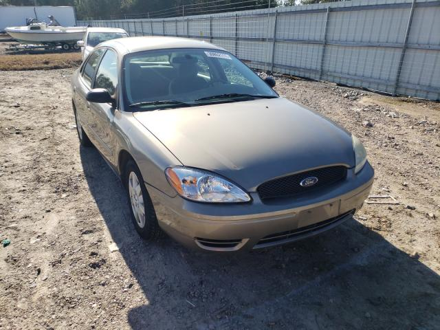 Salvage cars for sale from Copart Charles City, VA: 2007 Ford Taurus SE