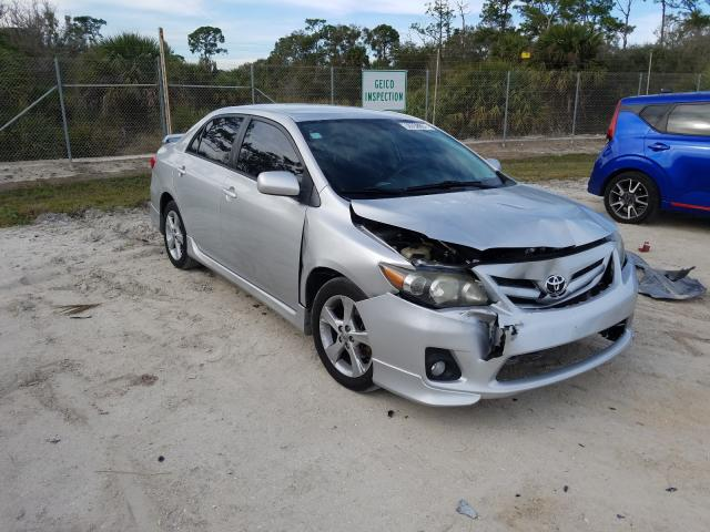 Salvage cars for sale from Copart Fort Pierce, FL: 2012 Toyota Corolla BA