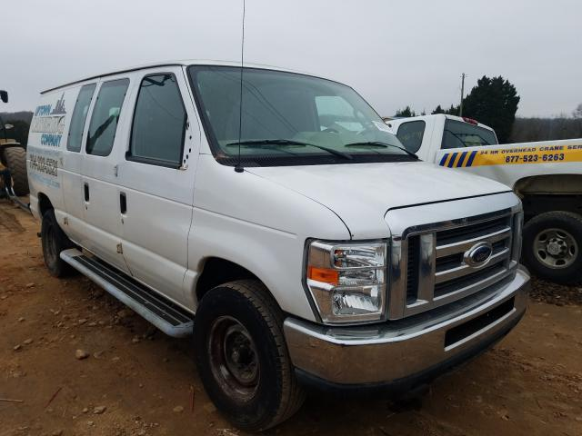 Salvage cars for sale from Copart China Grove, NC: 2013 Ford Econoline