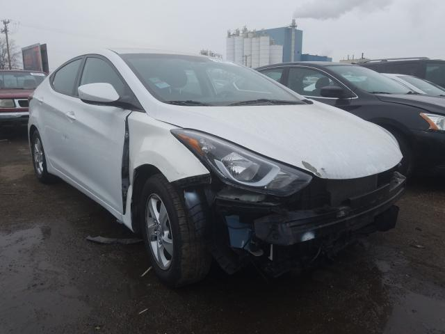 Hyundai Elantra salvage cars for sale: 2016 Hyundai Elantra