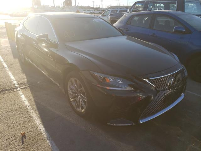 Salvage cars for sale from Copart Sun Valley, CA: 2020 Lexus LS 500 Base