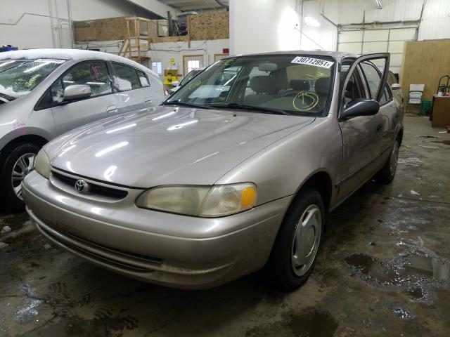 2000 TOYOTA COROLLA VE - Left Front View