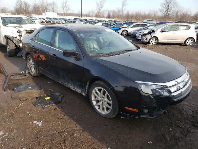 Salvage cars for sale from Copart Woodhaven, MI: 2012 Ford Fusion SEL