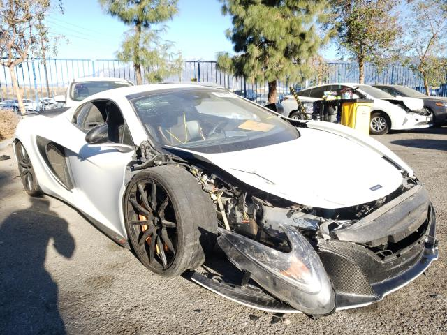 Salvage cars for sale from Copart Rancho Cucamonga, CA: 2016 Mclaren Automotive 650S Spider